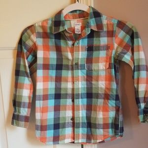 Boys Carter's Long Sleeve Shirt - Size 6